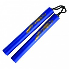 Blue Dragon Self Defense Martial Arts Ninja Foam Cord Corded Nunchaku / Nunchucks