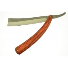 "FROM SWEENEY TODD 10.5"" STRAIGHT RAZOR JOHNNY DEPP TACTICAL FOLDING POCKET KNIFE WITH HICKORY WOOD GRAIN HANDLE VERSION"