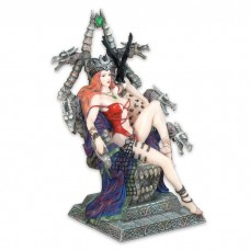 FANTASY KIT RAE LIKE SAVAGE CELTIC QUEEN  DRAGON SLAYER WARRIOR PRINCESS STATUE